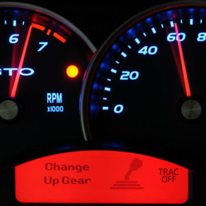 GTO Instrument Cluster