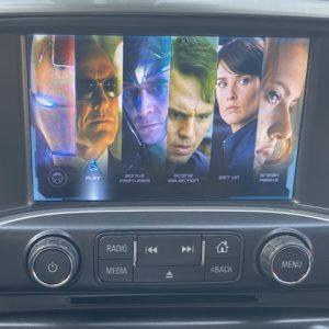 2014-2019 K2 Front Seat Entertainment