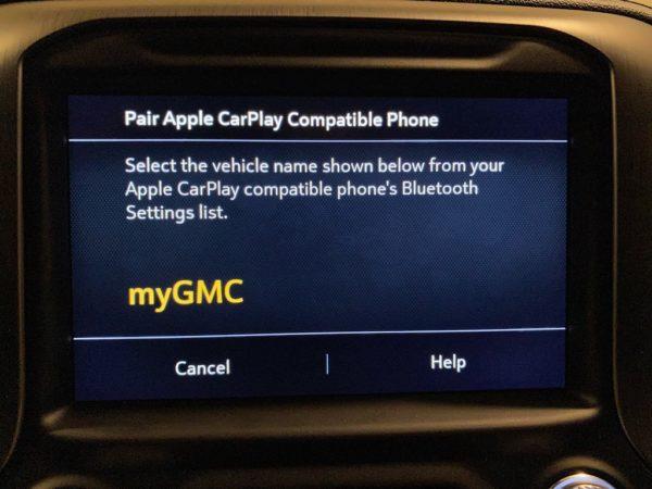 2020 Sierra Denali Wireless Car Play Retrofit